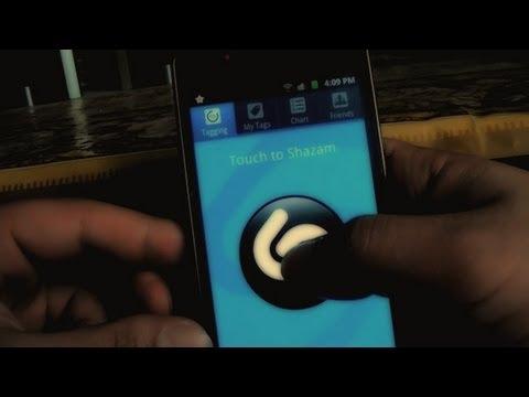 شرح تطبيق Shazam لمعرفة اسم اي اغنيه بمطابقة الصوت !