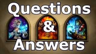 Hearthstone Golden Heroes Questions & Answer