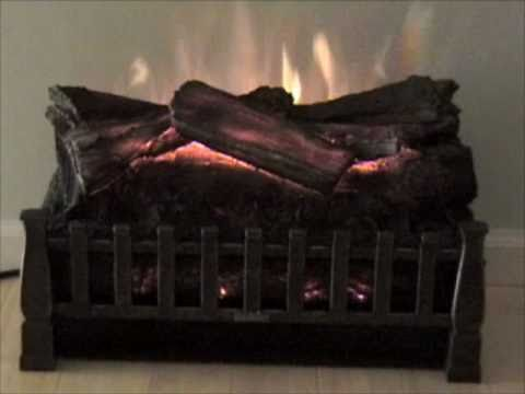 "The DuraFlame 20"" Electric Fireplace Log Set Insert is built for existing fireplace openings. It operates with or without heat and has a realistic flame effe..."
