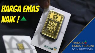 Harga emas hari ini | 30 Maret 2020
