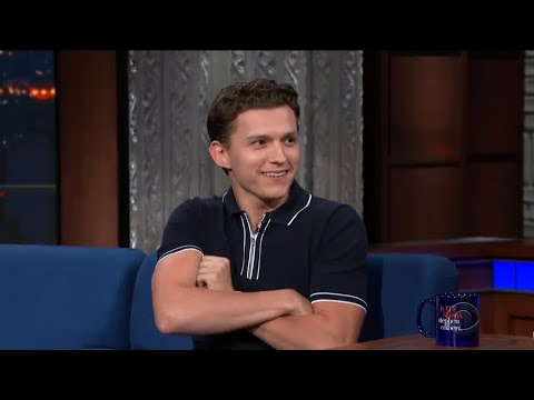 tom holland doing an american accent for 6 minutes and 10 seconds