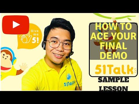 51talk Sample lesson -Kids Lesson CEJ