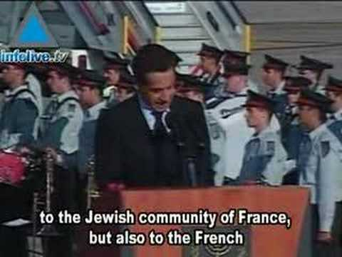 Sarkozy Arrives In Israel And Declares He Always Was And Alw
