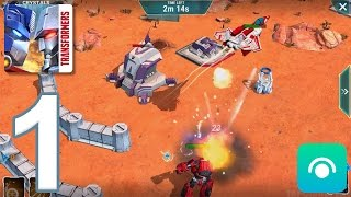 Transformers: Earth Wars - Gameplay Walkthrough Part 1 - Campaign 1: 1-3 (iOS, Android)