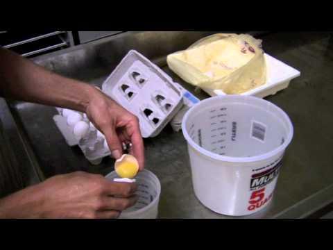 Step 1 - making the albumen