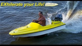 Exhilarator 101B Mini Power Boat