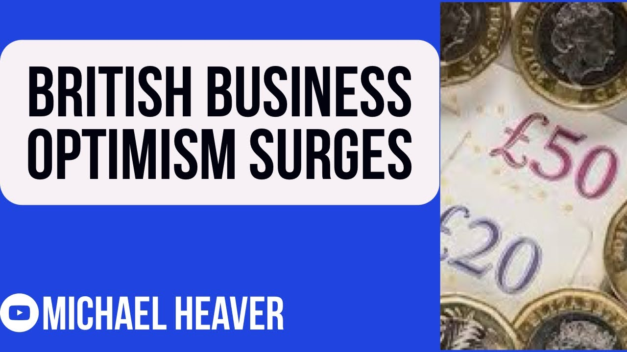 British Business Optimism Hits All-Time High!