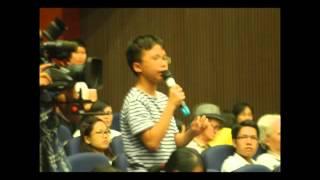 Bộ trưởng Giáo dục tương lai học lớp 8 phát biểu và cái kết không mấy bất ngờ
