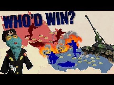 Czech Republic vs Slovakia: A hypothetical modern war