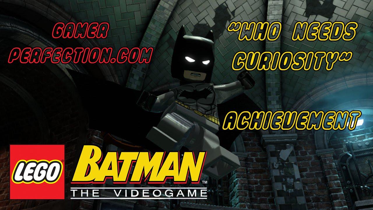LEGO Batman - Who Needs Curiosity Achievement - YouTube