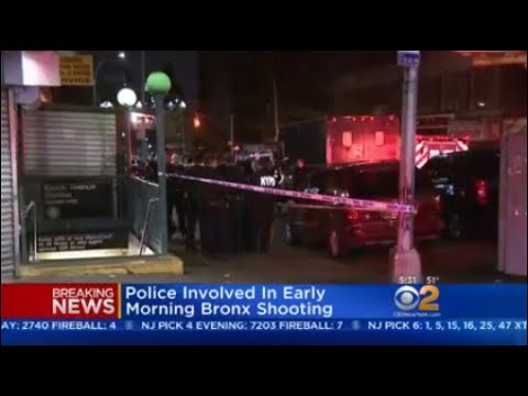 Bronx Police-Involved Shooting