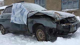 Богдан 2110. Разбитая в гараже. Забытая на 4 года.