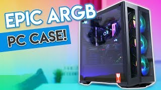 EPIC Addressable RGB PC Case for $110? [Cooler Master MB530P Review!]