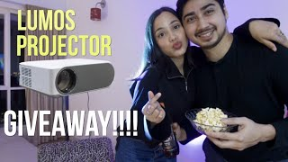 Prank Surprise for Husband & PROJECTOR GIVEAWAY!