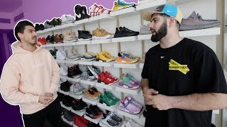DUBAI HYPEBEAST $1,000,000 SNEAKER COLLECTION!!