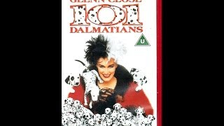 Digitized opening to 101 Dalmatians - Live Action (1997 VHS UK)