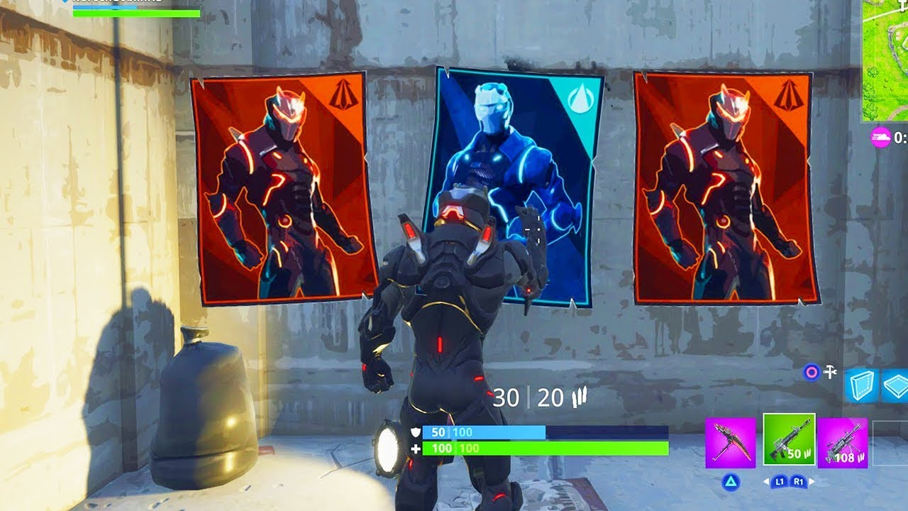 spray over different carbide or omega posters locations fortnite week 6 challenges - fortnite spray over posters