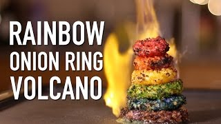 Rainbow Onion Ring Volcano *DO NOT ATTEMPT*