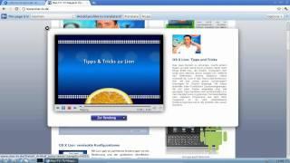 Lubuntu Screencast: Browser embedded media streams with gecko-mediaplayer plugin