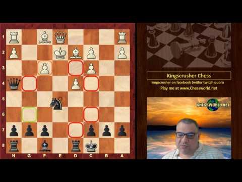 Classic Chess game: Carl Hamppe vs Wilhelm Steinitz Vienna (1859) · Vienna Game