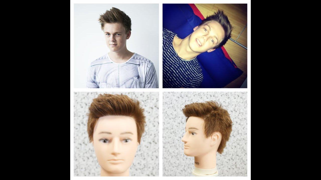 Haircut Tutorial Caspar Lee Thesalonguy Youtube