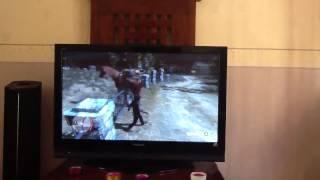 Beug avec mon cheval sur red dead redemption.