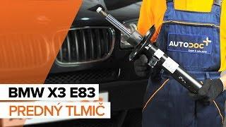 Pozrite si videoprievodcu riešením problémov s Tlmiče perovania BMW