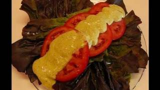 Betty's Tomato And Lettuce Salad With Green Goddess Dressing