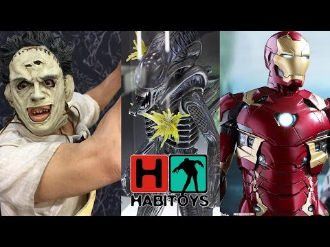 HABI TOYS Noticias Abril - Hot Toys Sideshow Pop Culture Shock NECA y Mas!