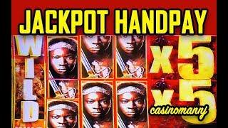 😲MAX JACKPOT HANDPAY😲 - WALKING DEAD 2 👻 - HUGE WIN! - MY BREAKTHROUGH! ! -  Slot Machine Bonus