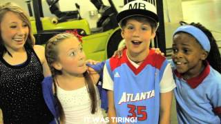 MattyBRaps LIVE Halftime Performance at Atlanta Dream