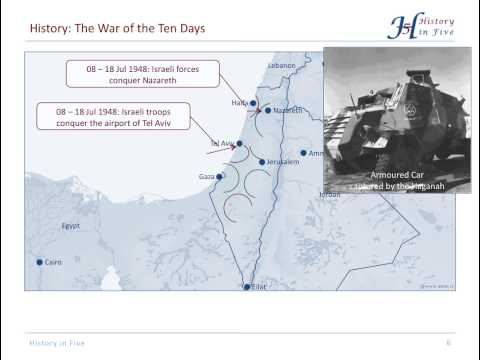 The Israeli War Of Independence (1947-1949)