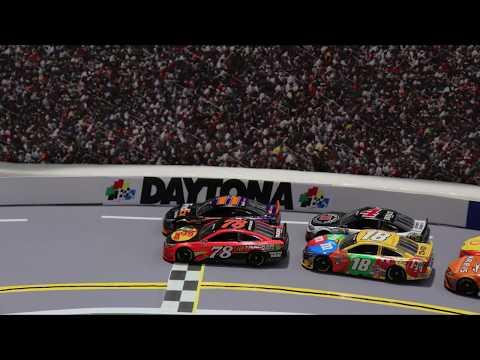 Stop Motion NASCAR: Denny's 2016 Daytona 500 Win