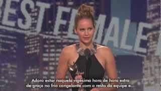 Jennifer Lawrence é a Melhor Atriz do Film Independent Spirit Awards 2013 [LEGENDADO]