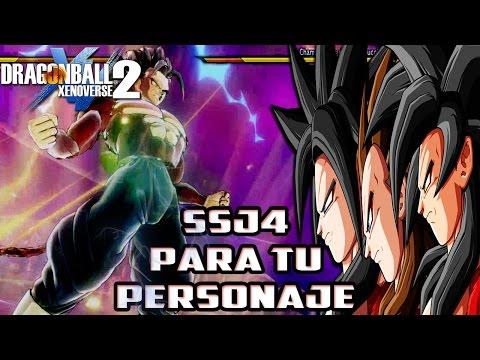 Dragon Ball Xenoverse 2: Transformación a Super Saiyan 4 para tu personaje |Gameplay en español