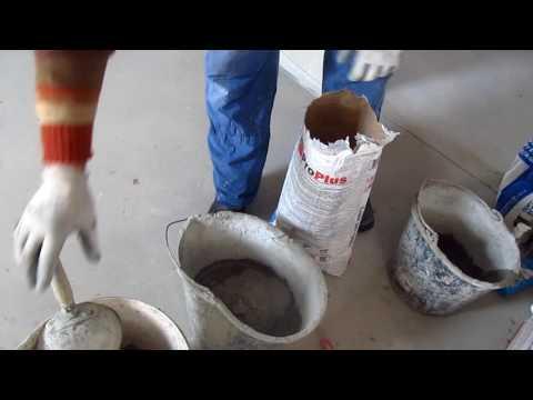 Как растворить клей для плитки