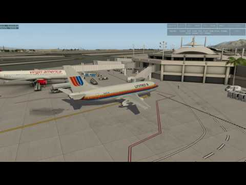 XP10.51 ~ VOR Navigating in the 737-200: IFR ~ KPSP - KSBA - KSAN