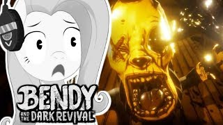 Fluttershy REACTS to BENDY AND THE DARK REVIVAL TRAILER??