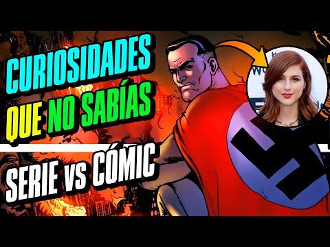THE BOYS (AMAZON) | CURIOSIDADES QUE NO SABÍAS | Cómic vs Serie