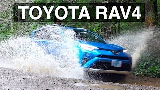 2016 Toyota Rav4 AWD - Review & Offroad Test Drive
