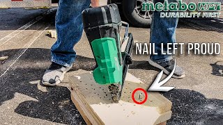 Nailers From METABO HPT Have CHANGED! (WAS HITACHI BETTER?)