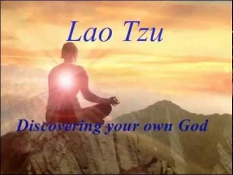 Lao tzu - Discovering God