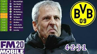 Lucien Favre's Tactic-Football Manager 2020 Mobile