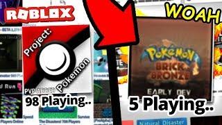 History of Roblox Pokemon Games (Pokemon Brick Bronze & More)