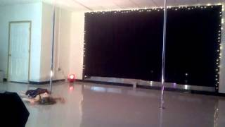 My first pda competition (pole dance Association)