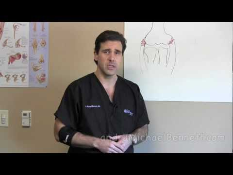 How to Use an Elbow Brace Golfers Elbow Tennis Elbow Houston Dr. J. Michael Bennett