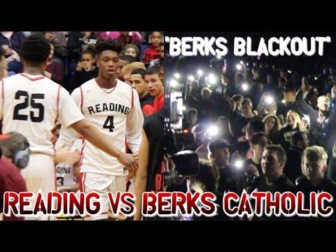 """2017 BERKS BLACKOUT"" READING vs BERKS CATHOLIC (Berks County Final)"