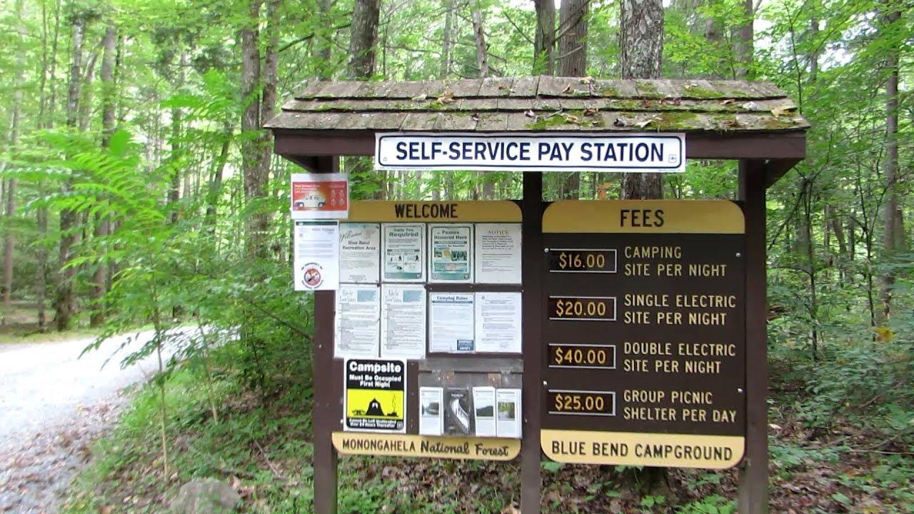 Blue Bend Campground near White Sulphur Springs, WV