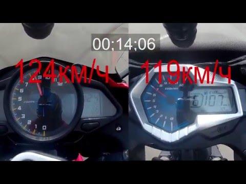 Сравнительный видеообзор Lifan KPR 200 и Loncin GP250