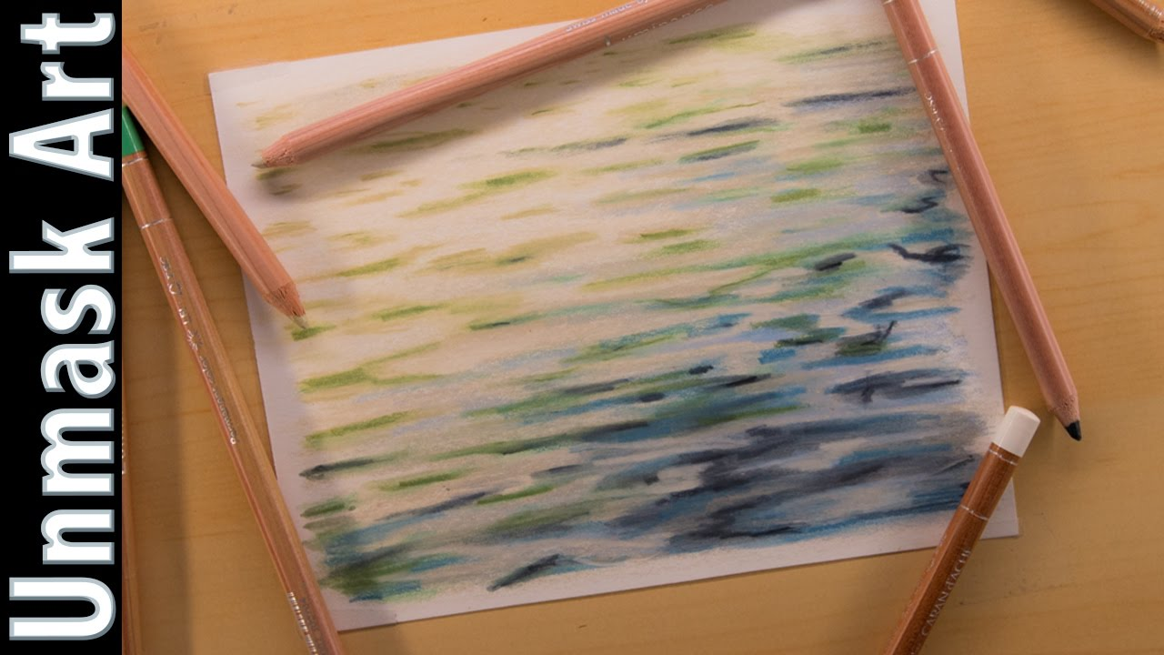 Water colored pencil drawing time lapse youtube